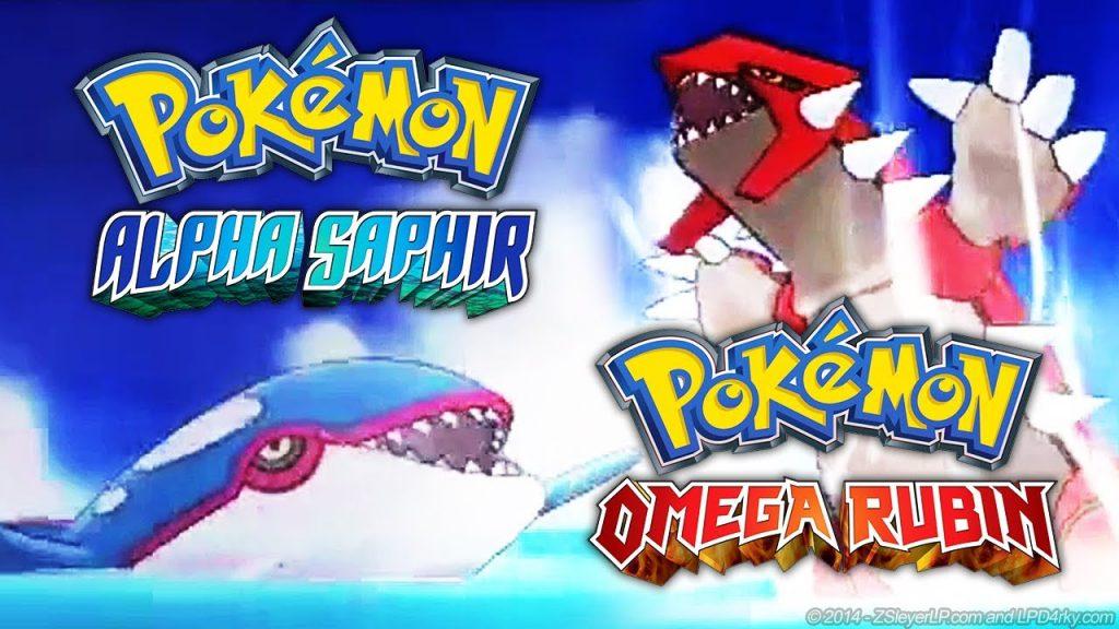 Pokémon Omega Rubin und Alpha Saphir