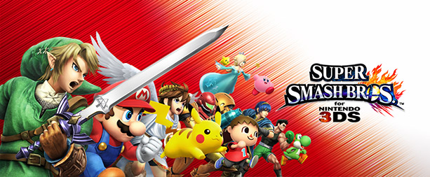 Super Smash Bros. 3DS Banner