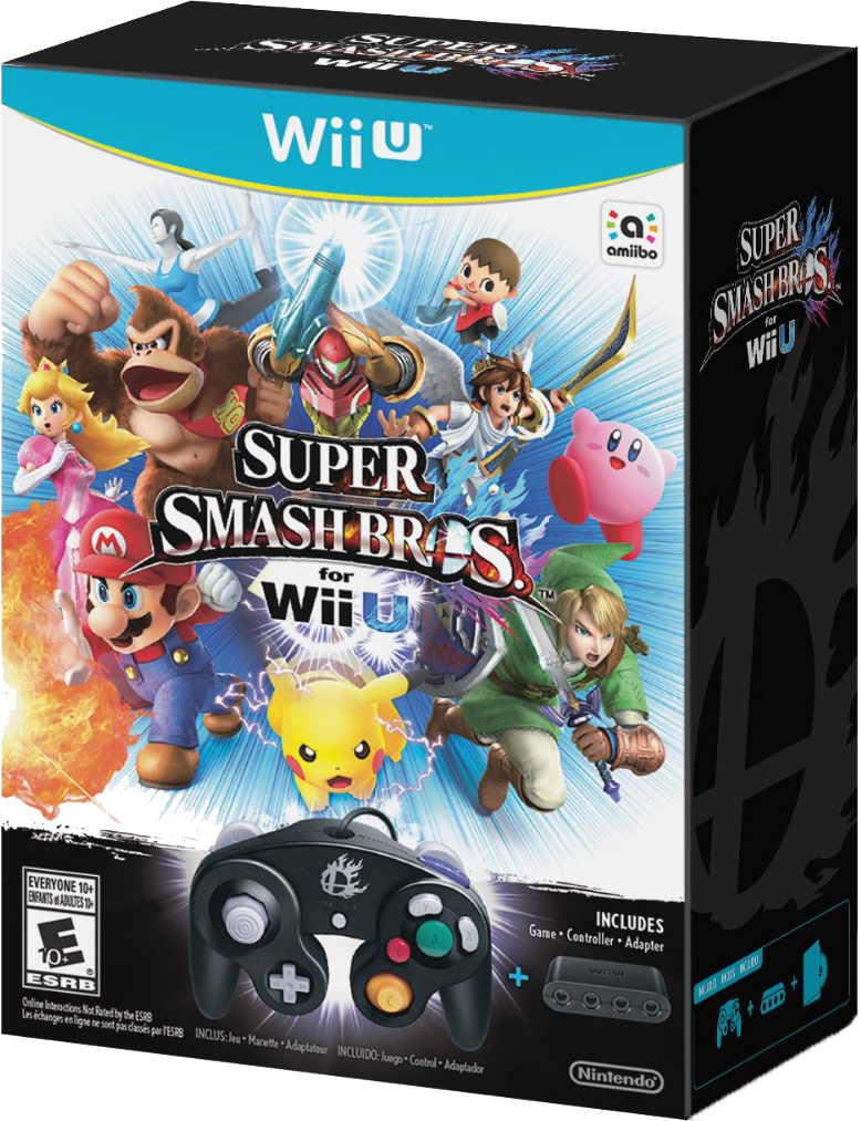 Super Smash Bros. for Wii U Bundle
