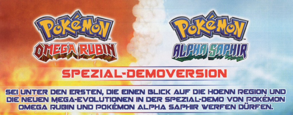 Pokémon Spezial-Demoversion