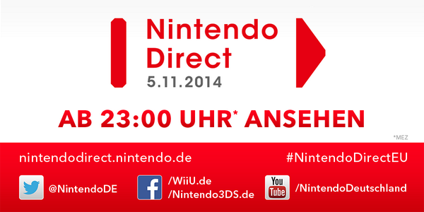 Nintendo Direct am 05.11.2014