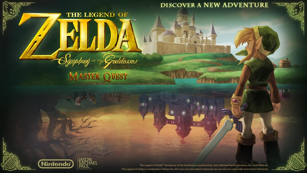 The Legend of Zelda Symphoniy of the Goddesses Master Quest