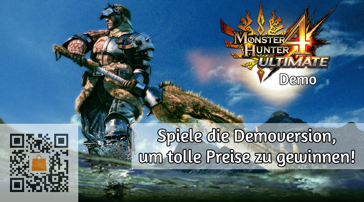 Monster Hunter 4 Ultimate Gewinnspiel