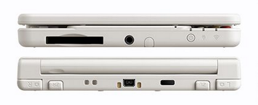 New 3DS Front : Back