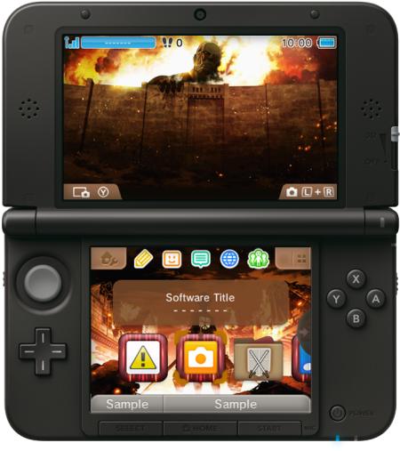 Shingeki no Kyojin - Humanity in Chains 3DS Design