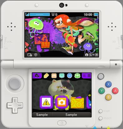 Splatoon 3DS Design