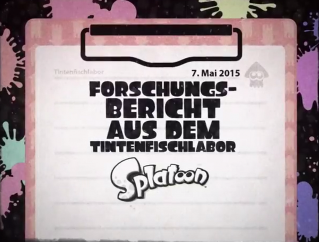 Splatoon Nintendo Direct hier ansehen!