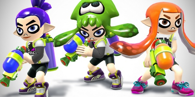 Splatoon Smash Kostüme